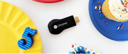 image 2 - Happy 5th Birthday, Chromecast