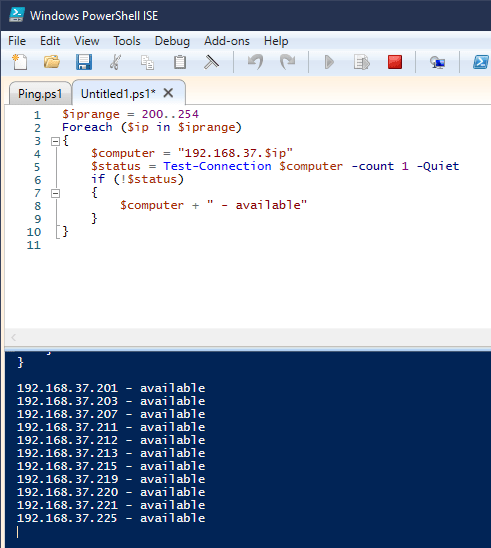 image 15 - Quickly Ping A Range of IP to Find Dead IP on Windows