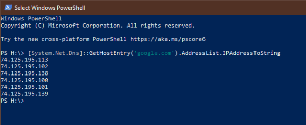image 2 - PowerShell Tip: How To Get All IPs Assigned to a DNS Domain