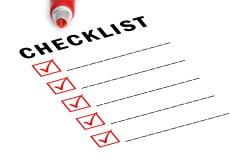 checklist - Startup Idea Checklist