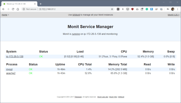 image 1 - Monitoring and Restart MySQL Service Automatically with Monit