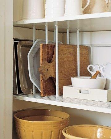 Organisere kjøkkenskap - 15 gode råd til hvordan du kan organisere på kjøkkenet