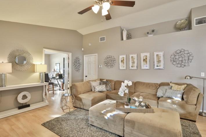 Living Room Makeover Interior Design