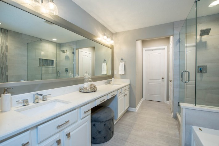 Bathroom Interior Design Tampa - K Jillian Designs
