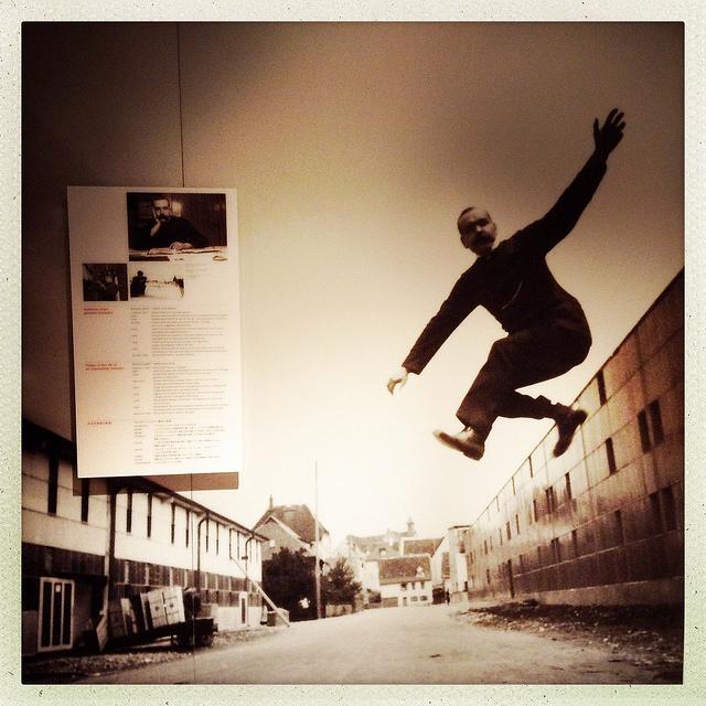 Richard Steiff jump