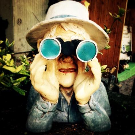 nenea cu binoclu