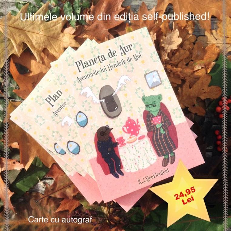 Ultimele exemplare din ediția self-published