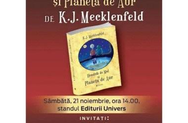 lansare Hendrik de Mol și Planeta de Aur la Gaudeamus 2015
