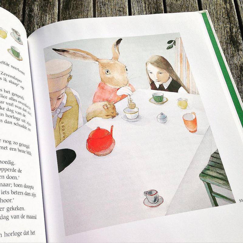Ceaiul - Alice in Wonderland - Lisbeth Zwerger