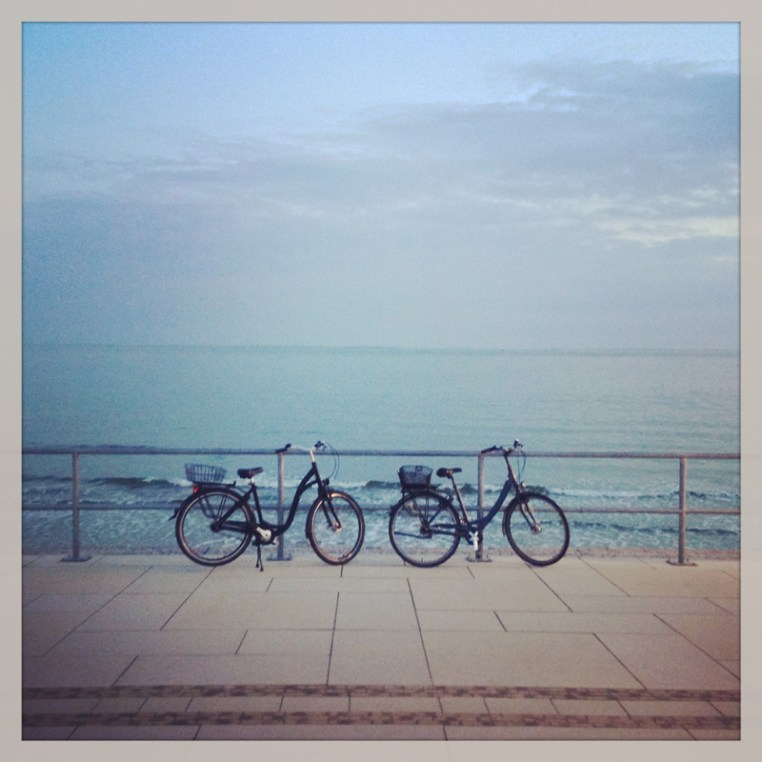 biciclete și Marea Nordului