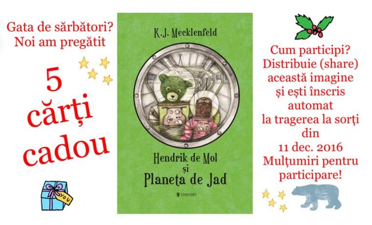 Hendrik de Mol și Planeta de Jad - 5 cărți cadou