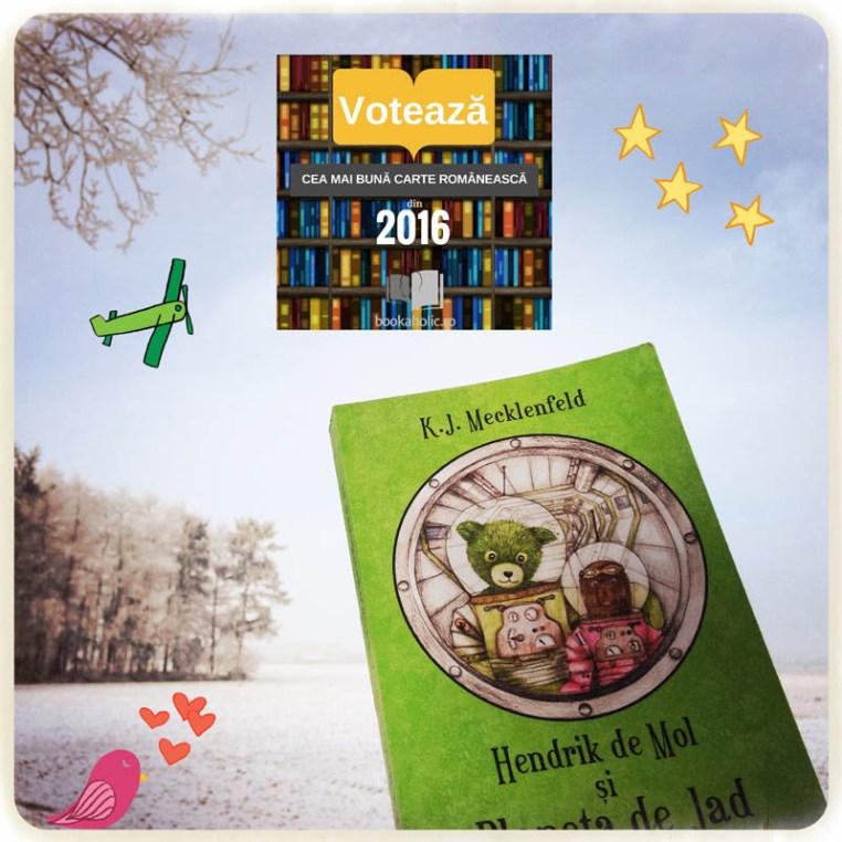 Hendrik de Mol nominalizat pentru Cea mai bună carte a anului 2016