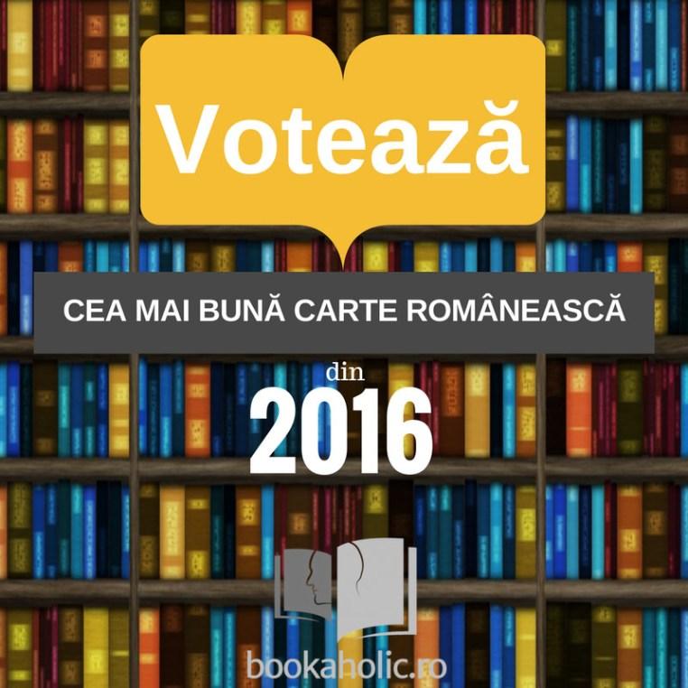 Votează cea mai bună carte românească din 2016