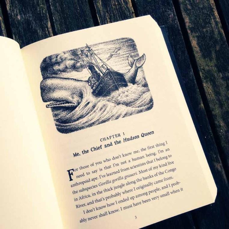 The Murderer's Ape - Jakob Wegelius - chapter illustration