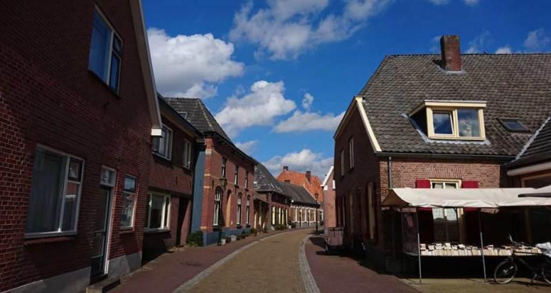 străduță în Bredevoort