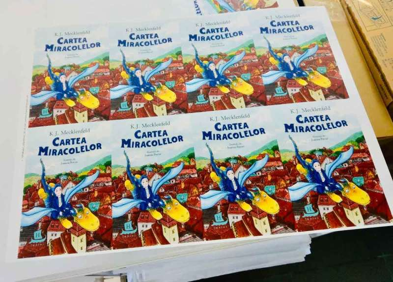 """Cartea Miracolelor"" e la tipografie"