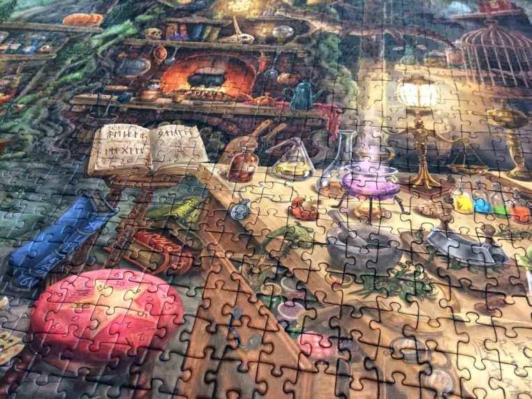 Escape Puzzle - Ravensburger - detaliu