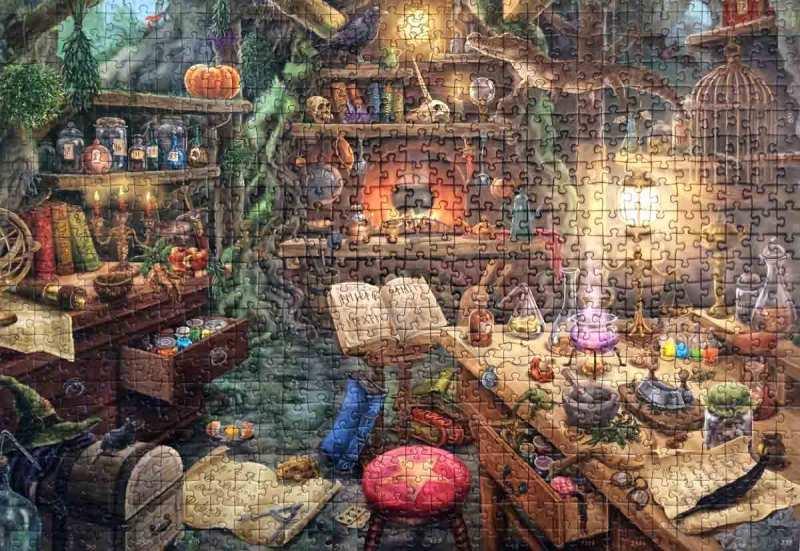 Bucătăria vrăjitoarei - Escape Puzzle - Ravensburger - 759 piese