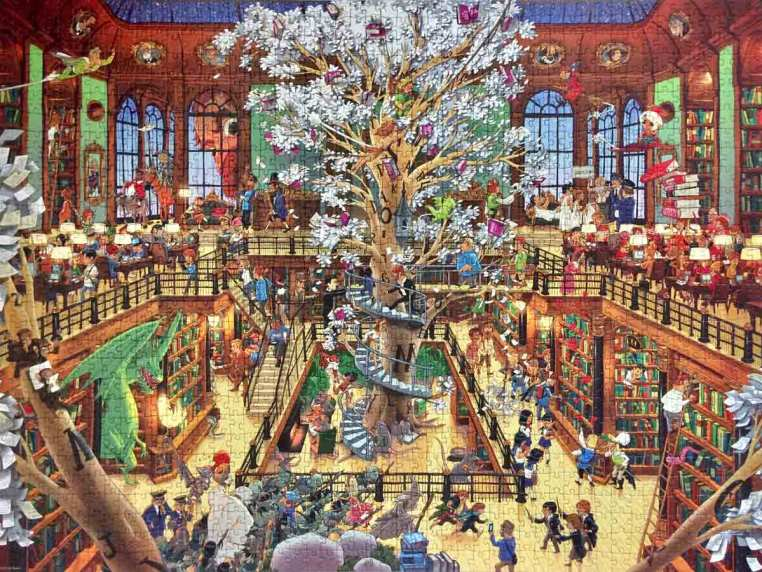 Library - Oesterle - Heye Puzzle