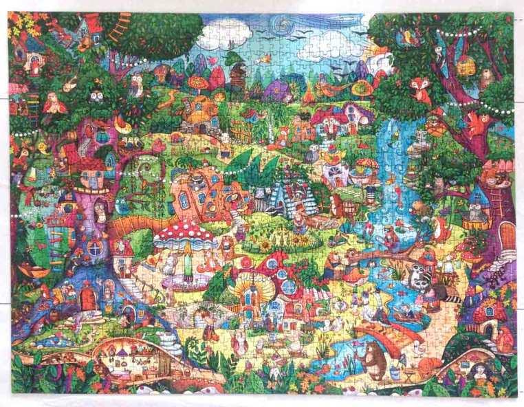 Wonderwoods - Rita Berman - Heye Puzzle - 1500 piese