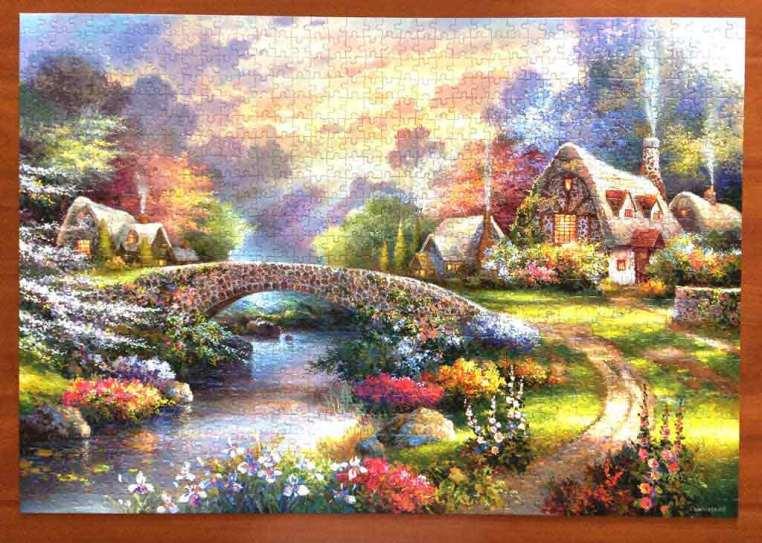 Cottage - Castorland Puzzle