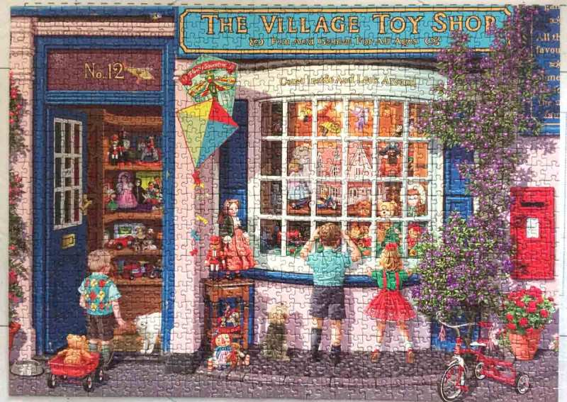 The village toy shop - Gibsons puzzle