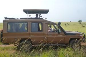 Uganda Safari Vehicle