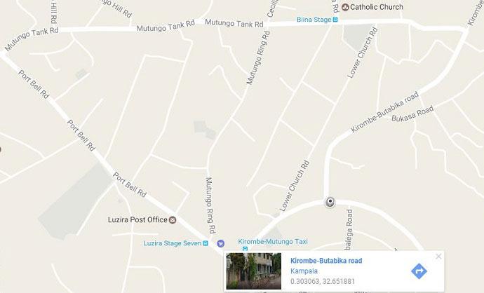 kjong safaris google map