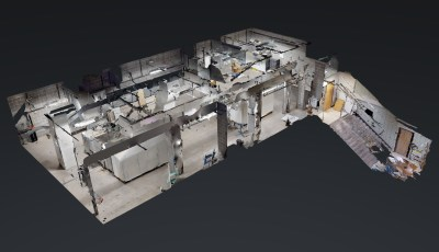 School Mechanical Room 3D Model