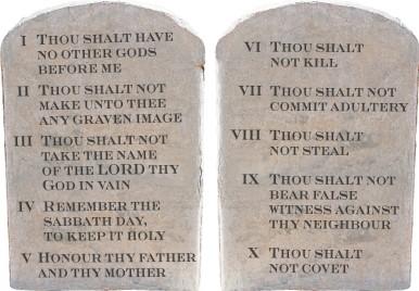 10 commandments of god # 40