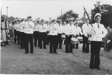 Alte Zeiten -KJV beim Rosenfest in Steinfurt 1959