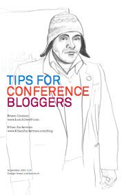 tips for conference blogging cover
