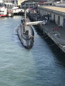 A picture of the USS Pampanito