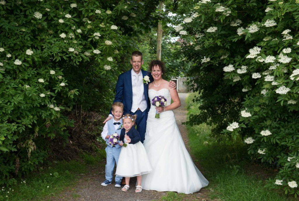 bruidsreportage gezinsfoto