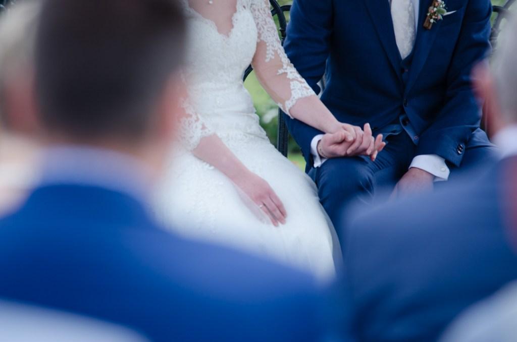 handen bruidsceremonie