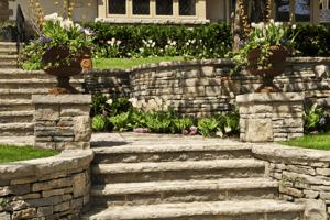 Stone Work, Stone Steps