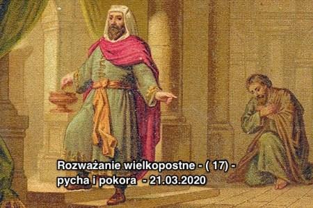 Pokora kontra pycha - 21.03.2020