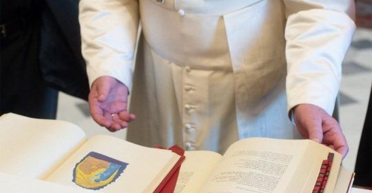 Nowy mszał ze zmianami Ojca Świętego Franciszka w wersji włoskiej