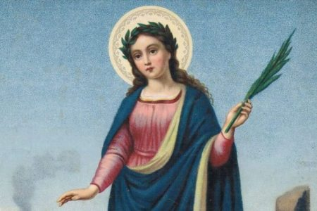Poświęcenie chleba i soli w dniu świętej Agaty