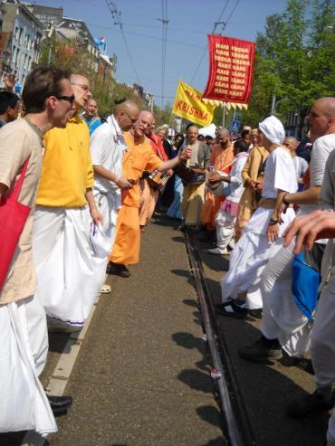 The Line Queensday Amsterdam Harinam 2011