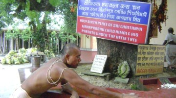 Establishing the holy dham