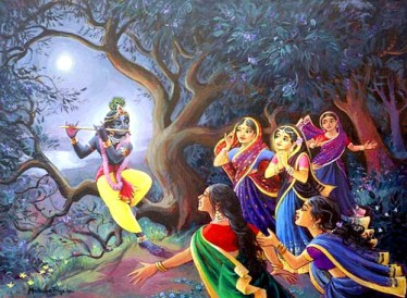 gopis surrendering