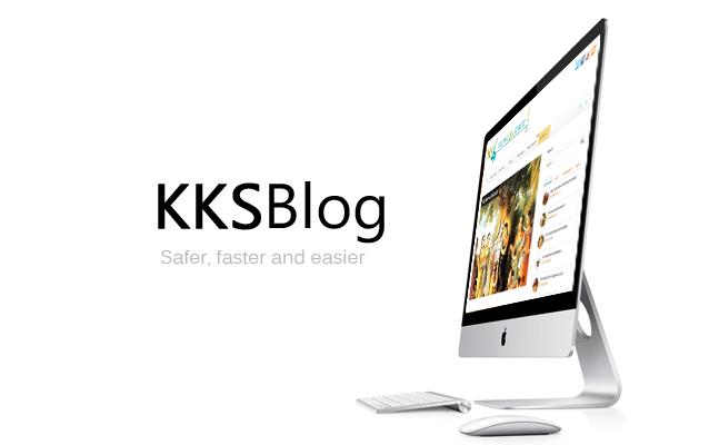 kksblog website updates new improved
