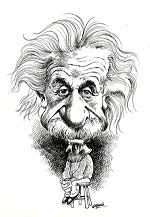 Cartoon-Albert-Einstein