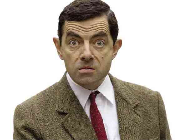mr Bean portret
