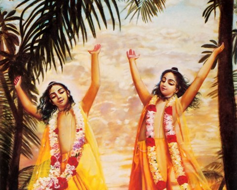Lord-Caitanya-and-Lord-Nityananda-Dancing