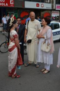 Ambasador of India visiting the festival