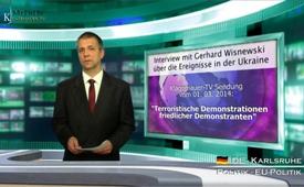 Interview mit Gerhard Wisnewski über die Ereignisse in der Ukraine