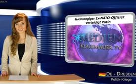Hochrangiger Ex- NATO- Offizier verteidigt Putin