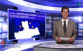 """Mit einem """"Rahmenabkommen"""" soll es zum EU-Schleichbeitritt kommen"""